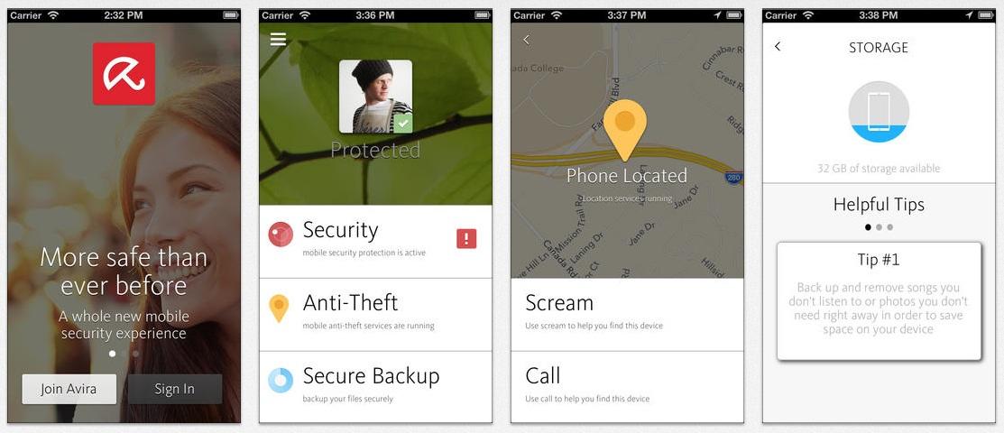 gratis antivirus app iphone