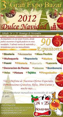 Gran Expo Bazar 3era Edición - 2012 - Expomanualarte