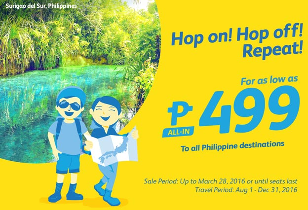 Cebu Pacific Promo Flights 499 Only
