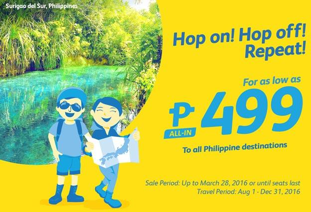 Cebu Pacific Promo Flights 499 Only