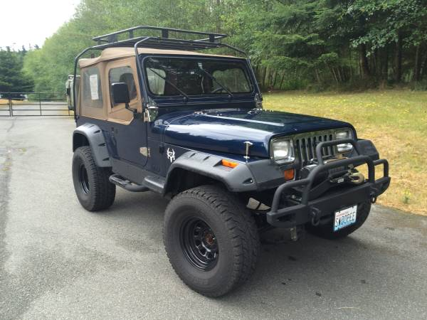 1991 Jeep Wrangler YJ 4x4 lifted | Auto Restorationice