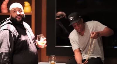 Jay Z Gives DJ Khaled the Last OG Roc-A-Fella Chain