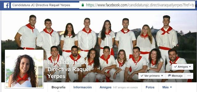 Candidatura Raquel Yerpes y su Directiva JC 2017