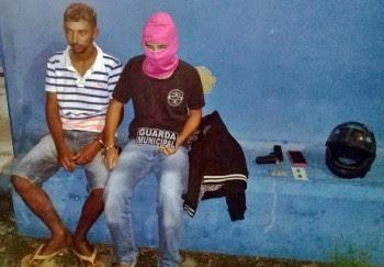 Guarda Municipal prende dupla após assalto em Campo Alegre (AL)