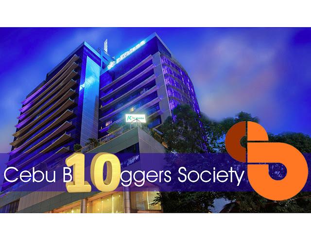 Cebu Bloggers Society celebrates 10th Anniversary at Cebu Parklane International Hotel for their Gala Night.
