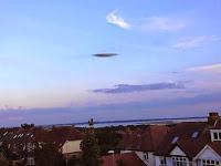UFO Terlihat Di Atas Langit Portsmouth