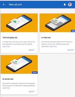 Google Introduce AdSense Native ads