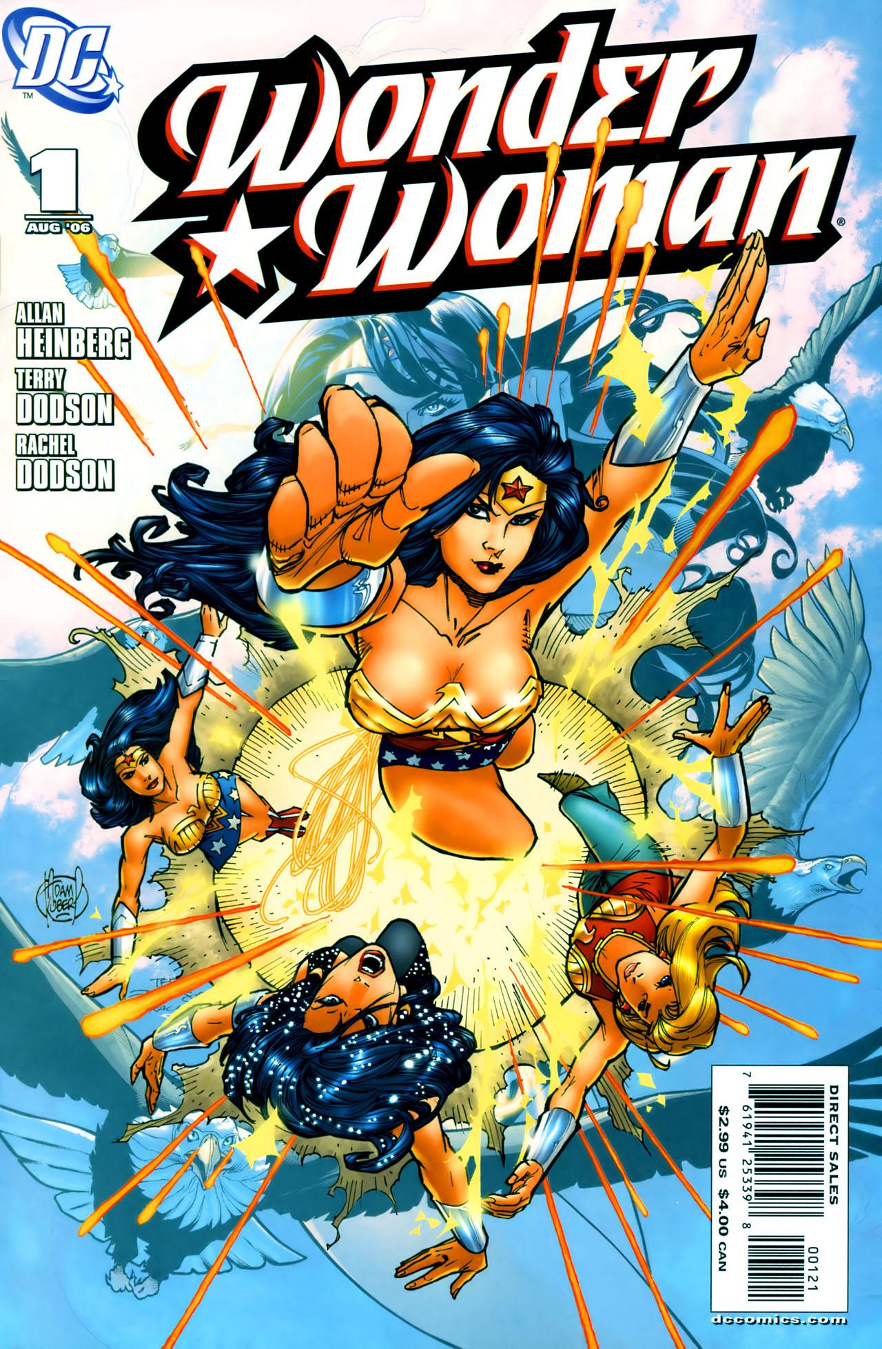 Read online Wonder Woman (2006) comic -  Issue #1 - 2