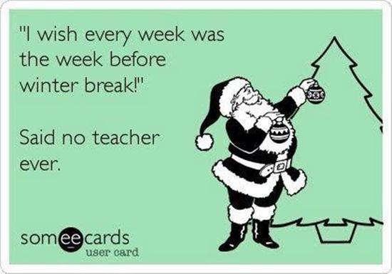 christmas break quotes