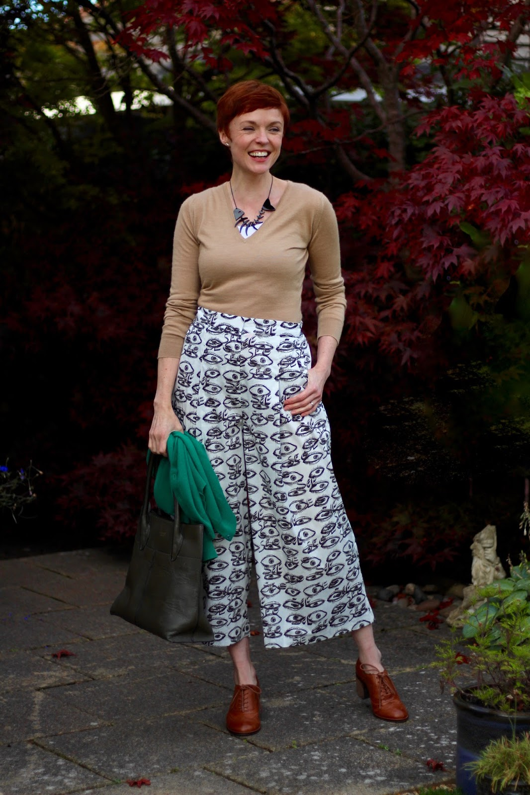 Autumn Style, over 40 | Culottes & Layers | Fake Fabulous