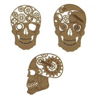 steam punk skulls