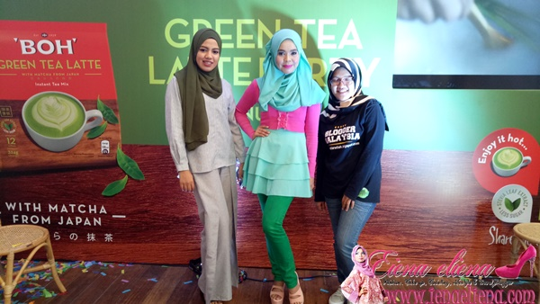 BOH Green Tea Latte Party 2017