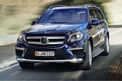 2016 Mercedes GLS 400 4MATIC blue exterior