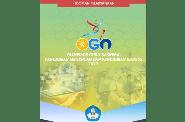 Juknis Pedoman Pelaksanaan OGN Guru SMA SMK dan SLB Tahun 2019