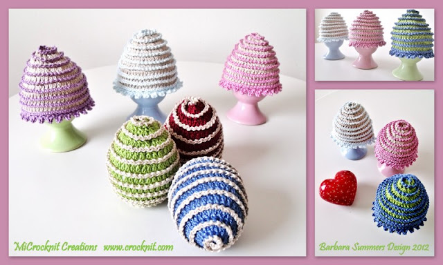 CROCHET EASTER EGGS AND COSY