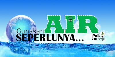 Poster Hemat Energi Air