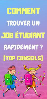 trouver un job étudiant pendant l'année