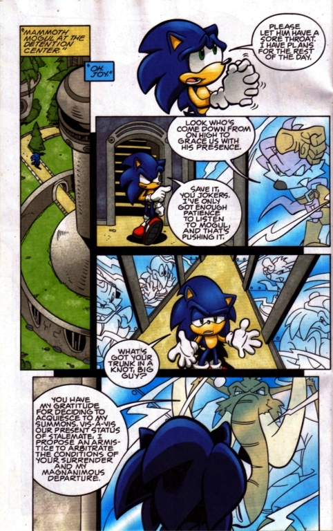 Read online Sonic The Hedgehog comic -  Issue #185 - 7