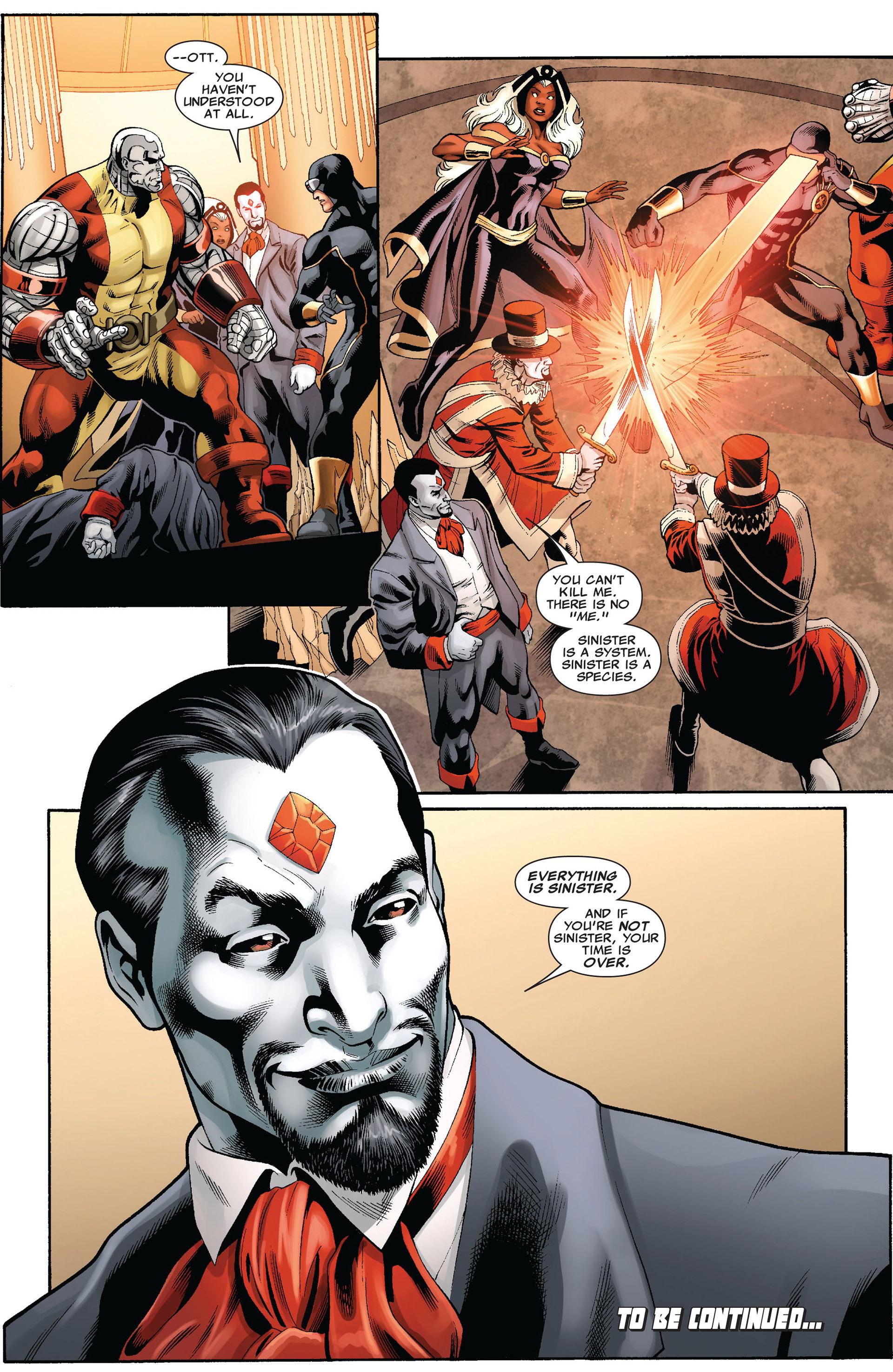 Read online Uncanny X-Men (2012) comic -  Issue #2 - 21