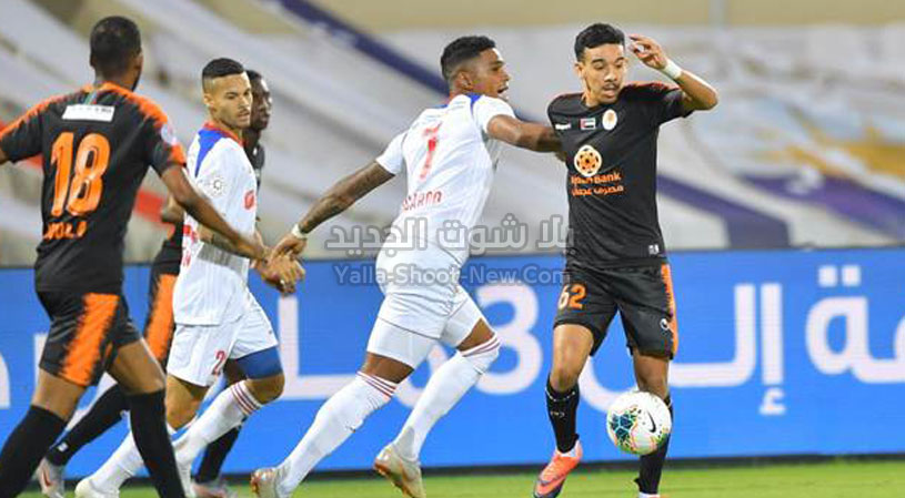 نادي عجمان يفرض التعادل الاجابي على الشارقة بهدف لمثله في دوري الخليج العربي الاماراتي