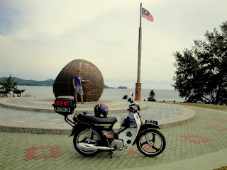 Me on the Tip of Borneo