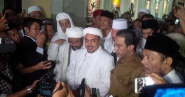 Habib Rizieq Ingin Hukum Islam Dimasukkan ke Konstitusi