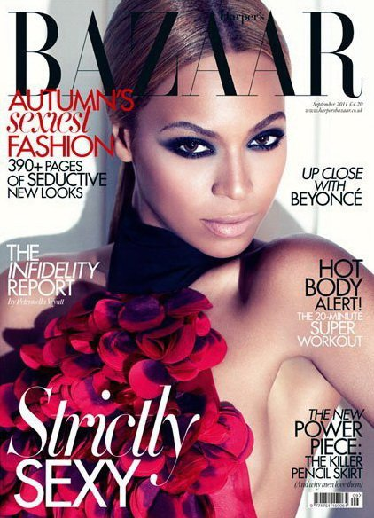 Syriously in Fashion: Beyoncé on UK Harper's Bazaar Cover ...
