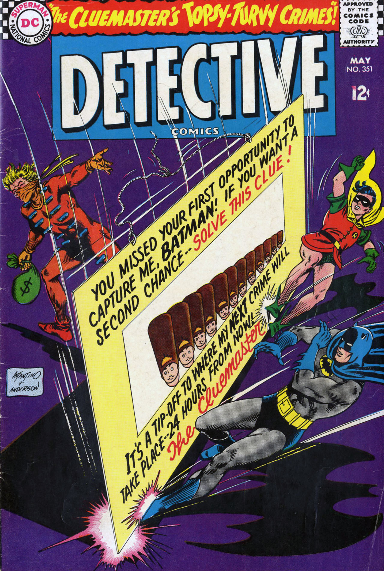 Detective Comics (1937) 351 Page 1