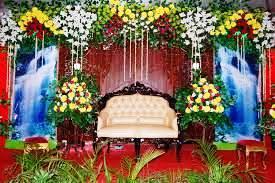 dekorasi kartini: dekorasi pernikahan penuh bunga