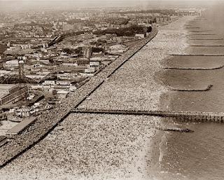 Costa de Coney Island, abarrotada de turistas