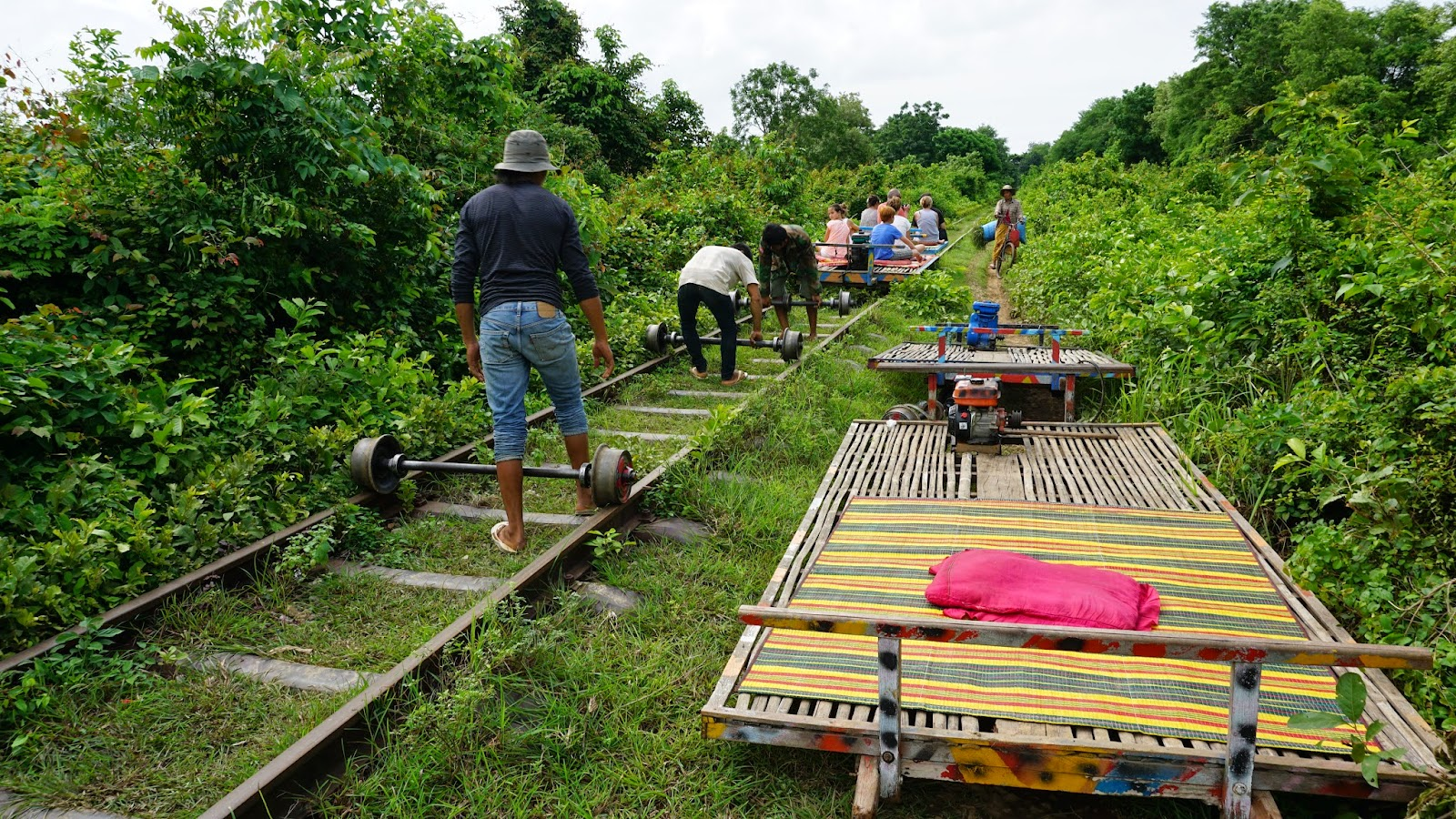 Battambang's bamboo train