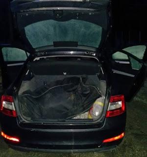 Θεσπρωτία: Καταδίωξη εμπόρων ναρκωτικών - Συνελήφθησαν 4 άτομα - Κατασχέθηκαν 125 κιλά κάνναβης