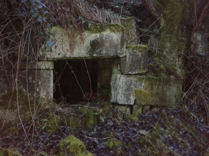 Old Mill Ruins nr  Summit Littleborough, Lancs