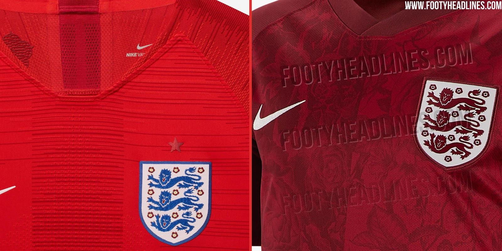 bcbd857f6 Which Are Better  Nike England 2018 Men s vs 2019 Women s World Cup ...