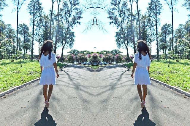 vestido plissado, voal branco, vestido branco, vestido leve, Gleikka, réveillon, vestido réveillon