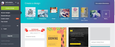 membuat media kit via canva