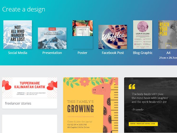 Cara Membuat Media Kit via Canva