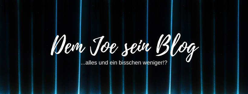 Dem Joe sein Blog
