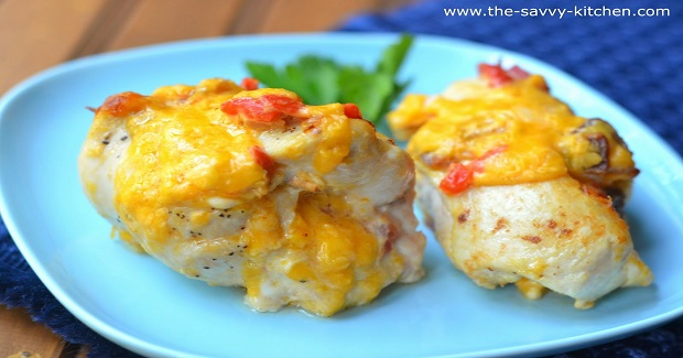 Pimento Cheese Chicken Rollatini  Recipe