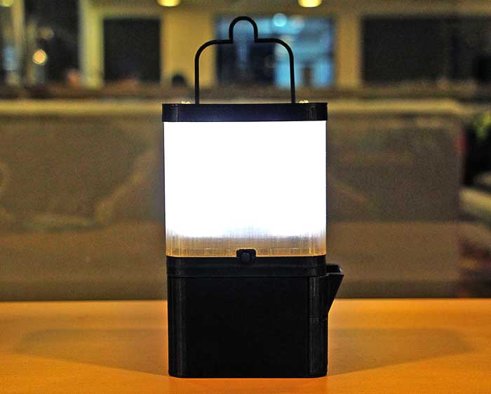 Salt Water lamp