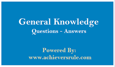 General Knowledge MCQ For SSC CGL - Set 14