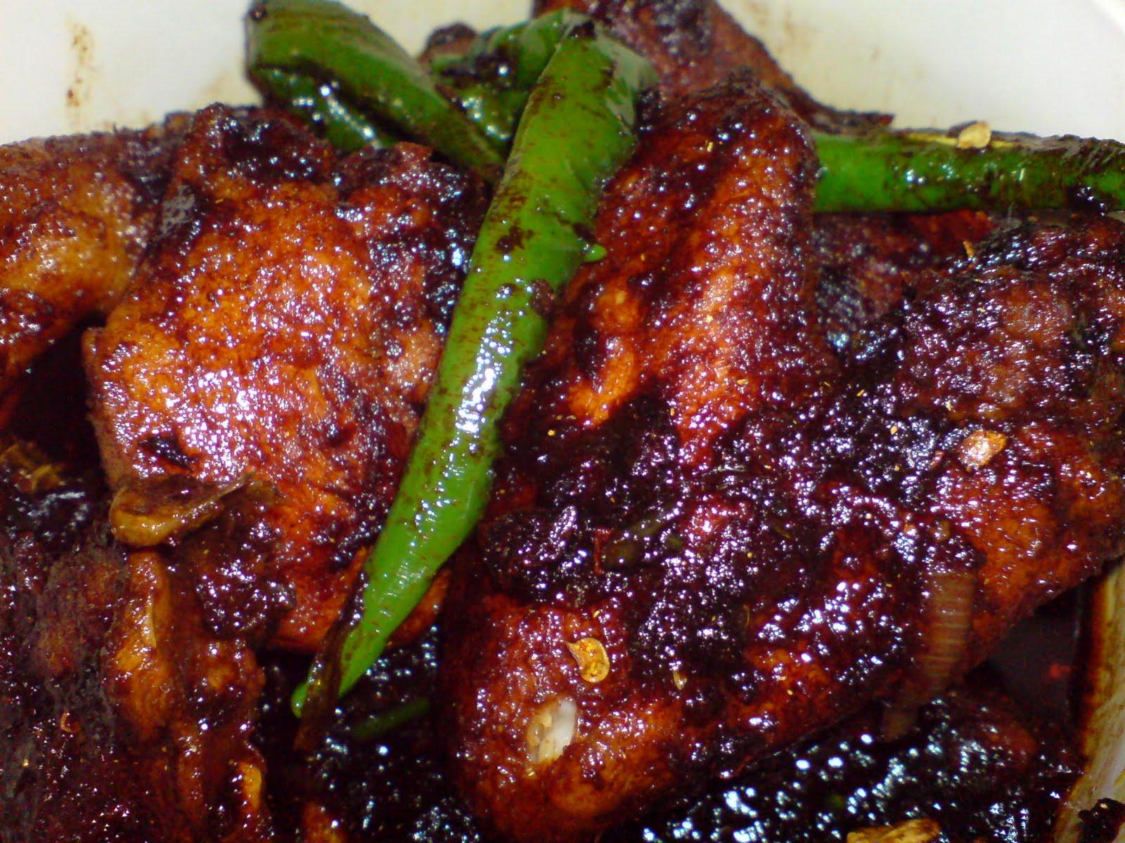 Dapur Bujang Ayam Masak Merah Desainrumahid