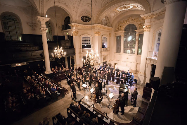 Sonoro Choir & Baroque Ensemble, conductor Neil Ferris at St Martin in the Fields