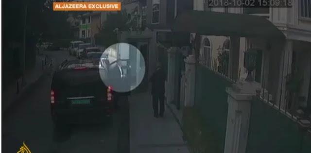 Rekaman Video Bocor, Diduga Tim Saudi Bawa Tas Berisi Jasad Khashoggi