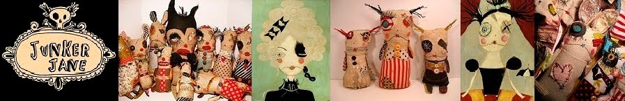 Junker Jane  Monster Art Dolls and Soft Sculptures