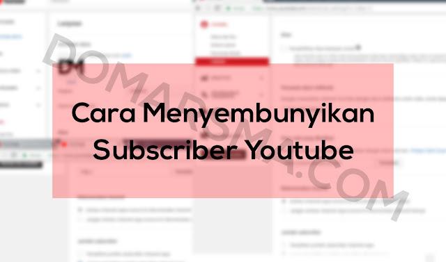 Cara Menyembunyikan Jumlah Subscriber