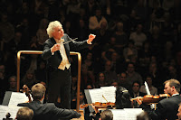 Simon Rattle and the Berlin Philharmonic at the Barbican in 2011  photo Mark Allen