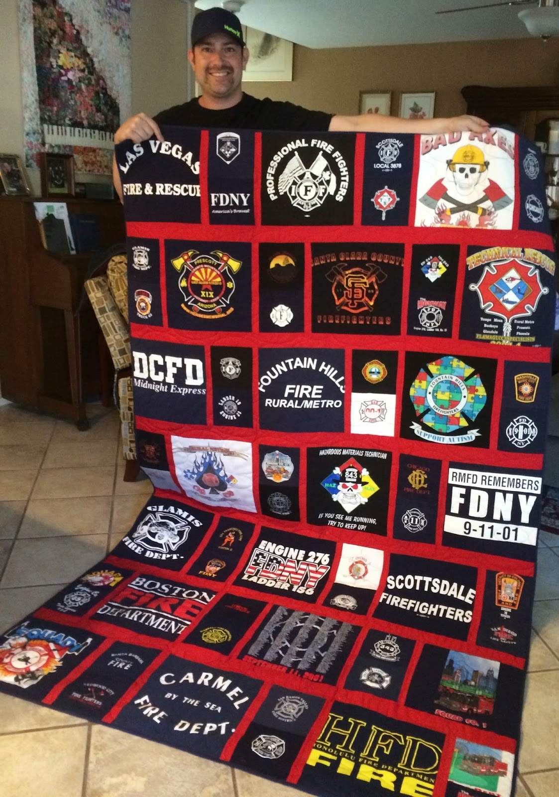 T Shirt Quilt Without Stabilizer