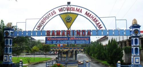Pintu Gerbang Universitas Widyagama Mahakam Samarinda