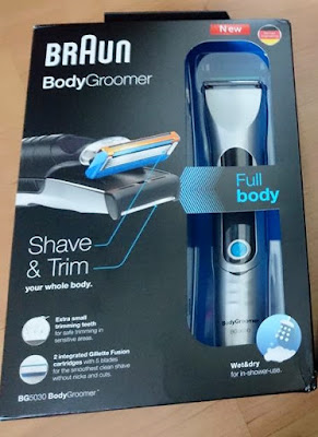 Competition: Win a Braun Body Groomer